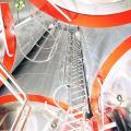 cylindro-konische gist- en lagertanks van 600 Hl 1995