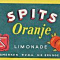 Etiket Spits Oranje
