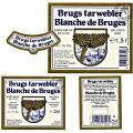 etiketten Brugs Tarwebier
