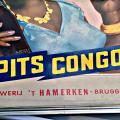 Reclamebord Spits congola de cocacola van 't Hamerken 1960
