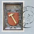 Postzegel 't Hamerken 1972 (100 jarig bestaan)