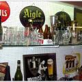 Museum / flessen van Brugse brouwerijen