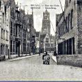 Sleutelbrug 1920 rechts de brouwerswoning