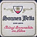 Bierviltje Sonnen-bräu 1967
