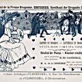 Uitnodiging Recital 1899