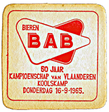 Bierviltje 1964