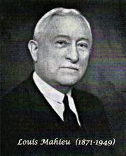 Louis Mahieu (1871-1949) directeur Aigle-Belgica
