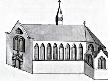 Augustijnenkerk pentekening