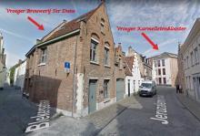 Nu en vroeger Langhe Bleckerstraat & Stuyfzandstraat