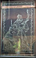 Afbeelding Cambrinus, melkglas langs de zijgevel