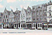 Markt Brugge 1930
