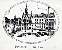 Lithografie Brouwerij De Lac