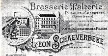 Lithografie brouwerij Schaeverbeke