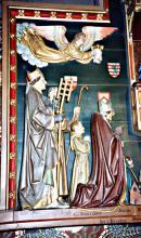 St.-Arnoldus van Tiegem, retabel 1908