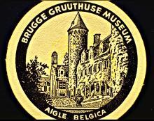 Bierviltje Aigle-Belgica