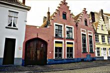 Walplein toegang tot de voormalige brouwerij De Wulf
