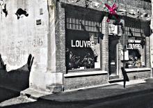 Café restaurant LOUVRE 1967