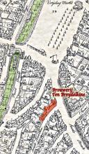 Locatie op kaart Marcus Gerards 1562